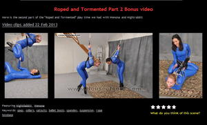 House of Gord: Roped and Tormented Part 2 Bonus video