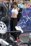 Teri Hatcher Stripping Down to Her Underwear at the Malibu Triatholon - September 13