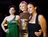 """Emmanuelle Chriqui Carla Gugino & Malin Akerman @ The After Party Of The L.A. Premiere Of """"Watchmen"""" March 2, 2009"""