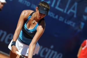 Julia Goerges - Amazing Breasts and Deep Cleavage (3xHQ - Palermo 2012)